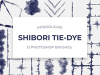 Shibori Digital Tie-Dye Photoshop Brushes