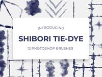 Shibori Digital Tie-Dye Photoshop Brushes
