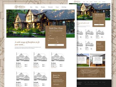 Steeple Pointe web design website custom homes home builder