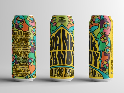 Dank Candy - Lollipop Dream 60s 70s pop color candy ipa dipa cannabis beer craft