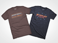Sportsball! and Be Excellent! on Cotton Bureau