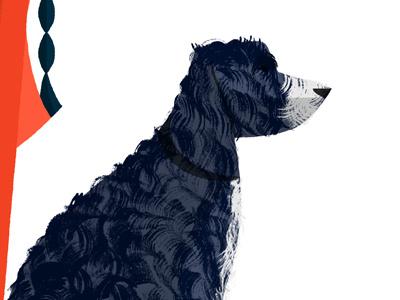 Stanley dry brush paint dog cockapoo