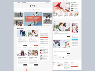 Scribe - Blog Home Page - 01