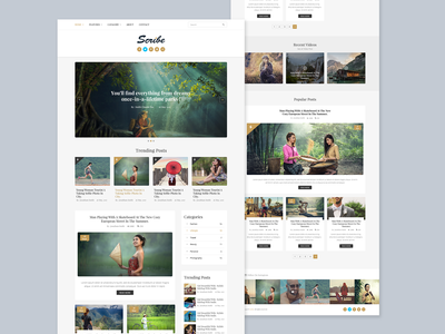 Scribe - Blog Home Page - 02