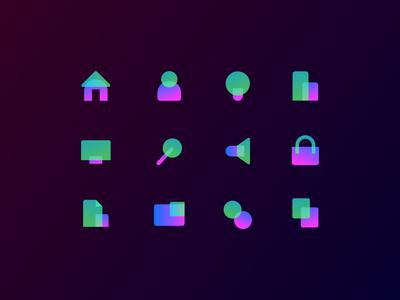 New Icons Design
