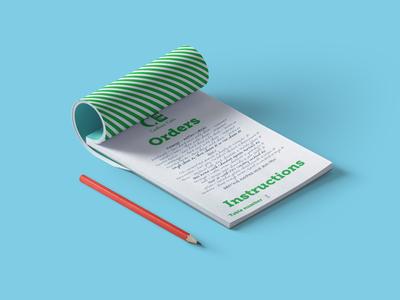 Notepad Design Cookwe Eats