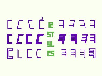 Exactly Latin Persian Type! فروشگاه فونت فارسی فونت فونت کیخسرو دانلود فونت فارسی monospaced type design typography typeface letters font characters