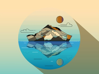 Arctic Ice island mountain island mountain ice arctic iceberg