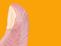 My thumb... taptapmedia digital illustration procreate
