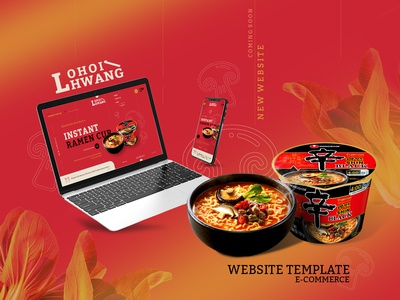 LohoiHwang website - Ecommerce template