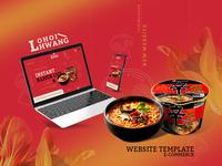 LohoiHwang website - Ecommerce template