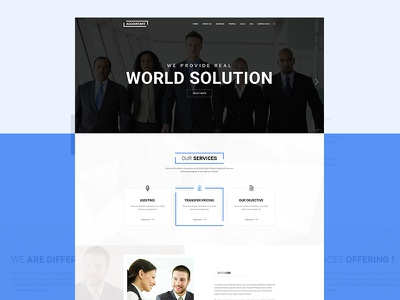 Accountant - Bootstrap PSD Template adviser advocate bootstrap ca chartered accountant corporate expert law lawyer legal signature taxation