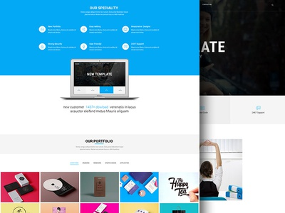 Mouser | Agency & Business Multipurpose PSD Template template stylish psd portfolio photography modern design studio creative agency corporate clean classic business