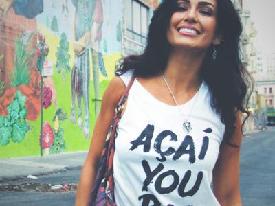 "Wake the Wolves Co. Tshirt Design ""Acai you Boo"""