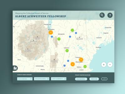 Map Data Visualization
