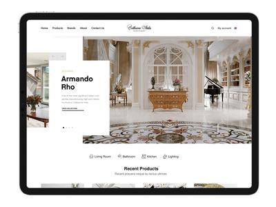 Collezione Italia - Rebranded Website