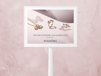 PANDORA - Advertisement Billboards for Azerbaijan
