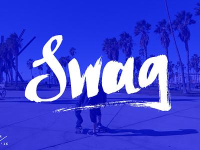 Swag colour los angeles la swag photography photo handmade art illustration typography type
