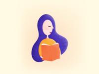 Library App   Illustration