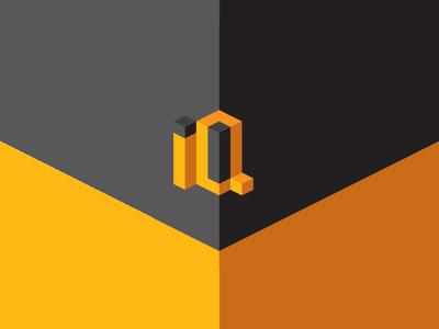 IQ letters logo