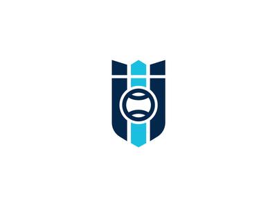 Tennis crest logo