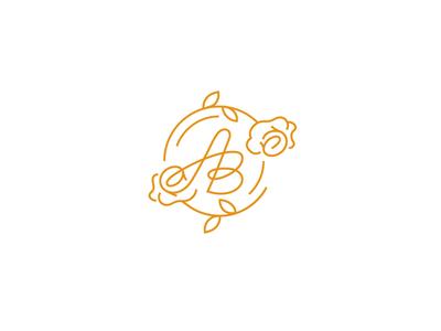 AB letter logo 2