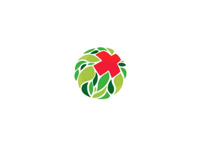 Medicine cross logo