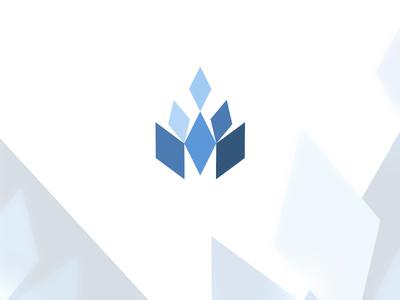 Diamond rhombus logo