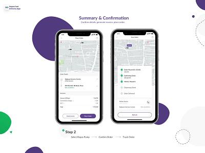 Fuel Delivery Mobile Application design system minimal mobile app design branding ios ux design app ui