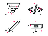 Creative Areas Icons