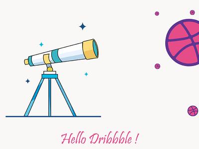Hello Dribbble invite hello dribbble