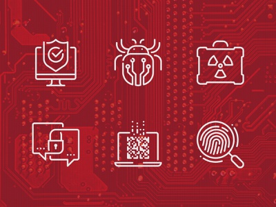 Cyber Security Icons malware virus set security secure cyber security icons cyber security cyber bug antivirus outline icon vector