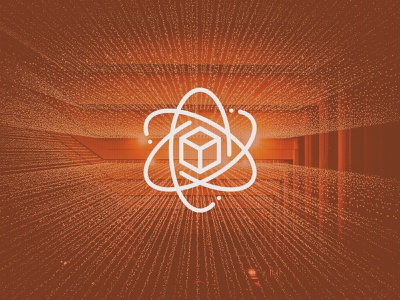 Data science outline icon vector blockchain block science big data database data data science