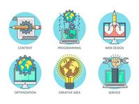 Web Development Icons
