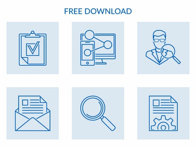 Seo And Web Development  Free Icons