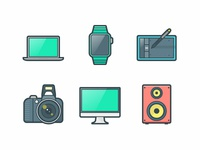 Devices and Gadgets Icons