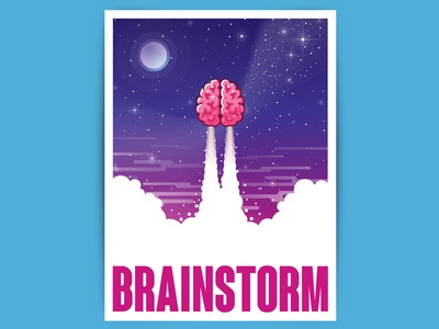 Brainstorm illustration