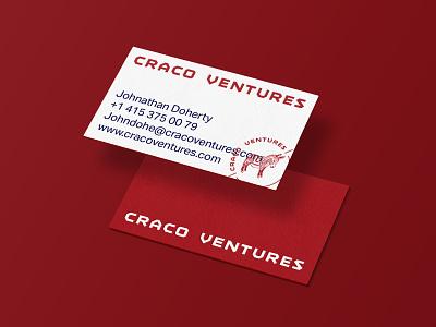 VC Firm business cards branding illustration logo brand identity business card donkey