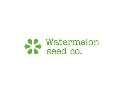 Organic Superfood Logo fruit watermelon branding logo brand identity health sustainability superfood healthy food organic