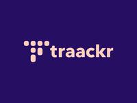 Traackr logo by felice della gatta