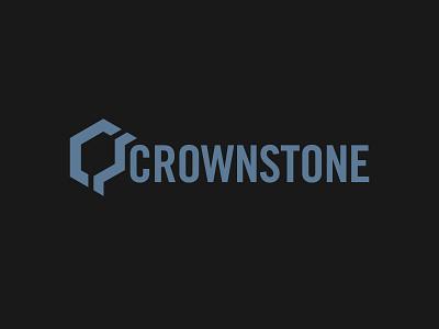 Crownstone Construction logo construction company building brand identity branding logo construction