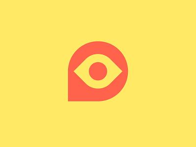 Eye Logo vision eyes minimal modenism icon brand identity branding eye logo eye