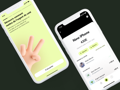 Bank App exploration onboarding fintech clean design app interface ui ux