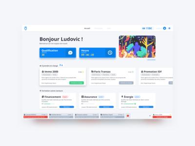 Lead engagement Web App