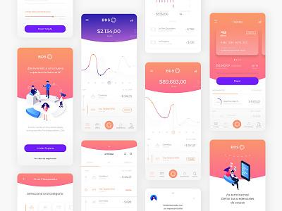 BDS - Homebanking dashboard mobile product design ui design homebanking bank interface ux ui app