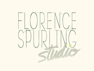 Florence Spurling: Logo, brand identity, packaging
