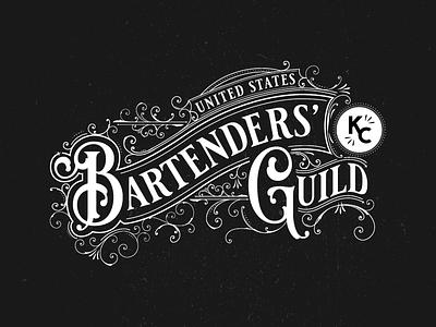 USBG Branding cocktails mixology guild kc bartenders logo branding