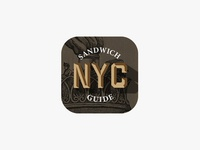 NYC Sandwich Guide App Icon, 02