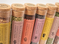 Sheffield & Sons Spice Packaging, Detail