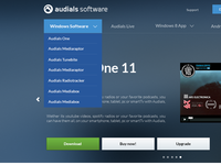 Audials 11 Website